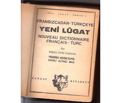 İLKSAHAF&FRANSIZCADAN-TÜRKÇEYE LÜGAT-1958