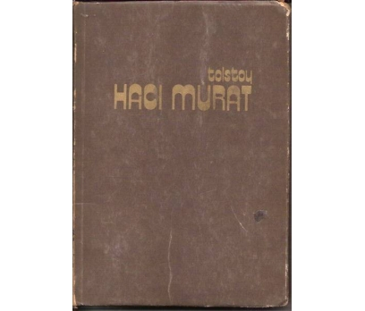 İLKSAHAF&HACI MURAT-TOLSTOY-