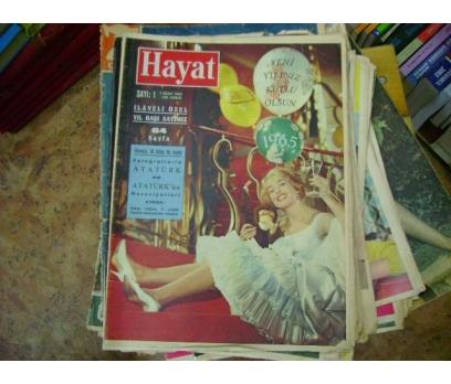 İLKSAHAF&HAYAT MECMUASI-1 ocak 1965-S:1