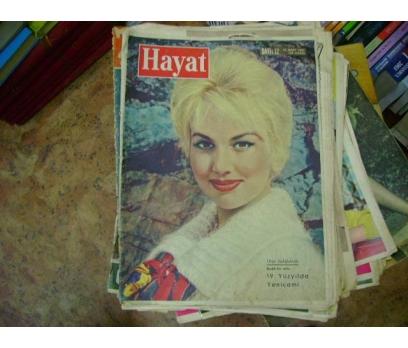 İLKSAHAF&HAYAT RESİMLİ ROMAN MECMUASI-1961-S:12