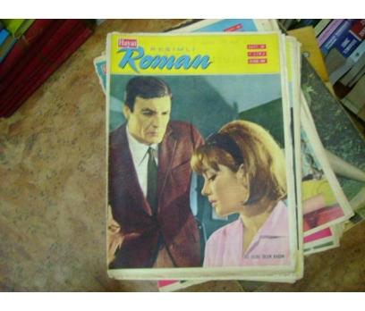 İLKSAHAF&HAYAT RESİMLİ ROMAN MECMUASI-1966-S:38