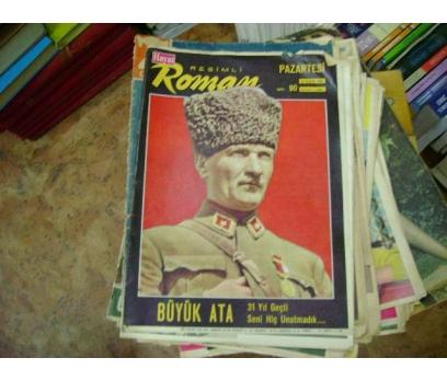 İLKSAHAF&HAYAT RESİMLİ ROMAN MECMUASI-1969-S:90