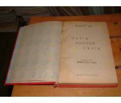 İLKSAHAF&HAYIR DOKTOR HAYIR-MARGUERİTTE LEES