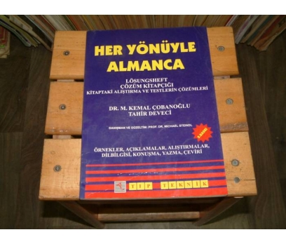 İLKSAHAF&HER YÖNÜYLE ALMANCA-DR.M.KEMAL ÇOBANOĞL