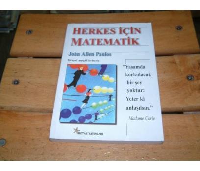 İLKSAHAF&HERKES İÇİN MATEMATİK-JOHN ALLEN PAULOS