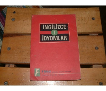 İLKSAHAF&İNGİLİZCE İDİYOMLAR 1
