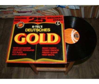 İLKSAHAF&K-TEL'S DEUTSCHES GOLD-LP PLAK