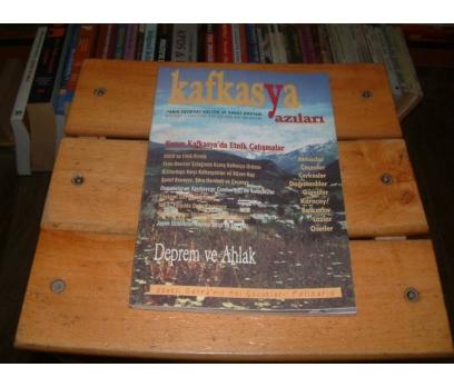 İLKSAHAF&KAFKASYA YAZILARI-1999 SONBAHAR