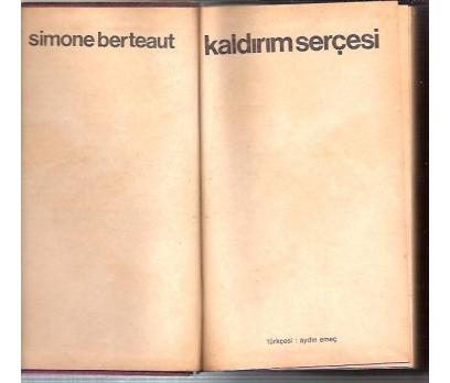 İLKSAHAF&KALDIRIM SERÇESİ-SİMONE BERTEAUT-AYDIN