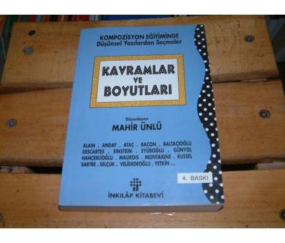 İLKSAHAF&KAVRAMLAR VE BOYUTLARI-MAHİR ÜNLÜ