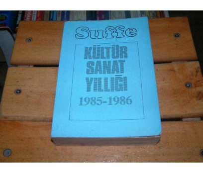 İLKSAHAF&KÜLTÜR SANAT YILLIĞI - 1985/1986