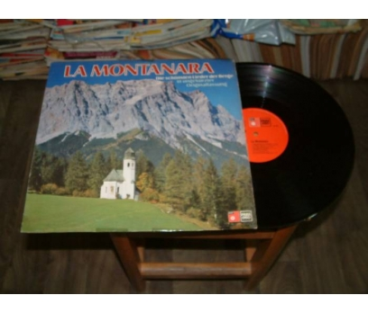 İLKSAHAF&LA MONTANARA-LP PLAK