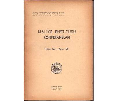 İLKSAHAF&MALİYE ENSTİTÜSÜ KONFRERANSLARI-7.SER