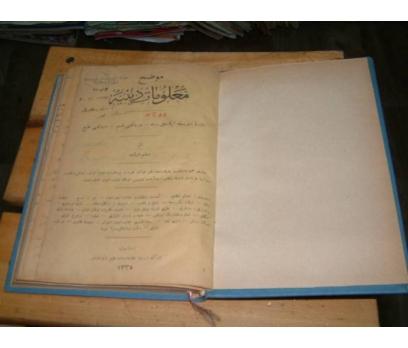 İLKSAHAF&MALUMAT-I DİNİYYE-CİLT 3-OSMANLICA