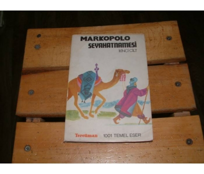 İLKSAHAF&MARKOPOLO SEYAHATNAMESİ-CİLT 2