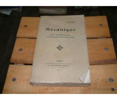 İLKSAHAF&MECANIQUE-P.CAMMAN-CLASSE DE MATHEMATİQ