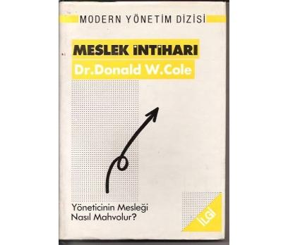 İLKSAHAF&MESLEK İNTİHARI-DR.DONALD W. COLE1989