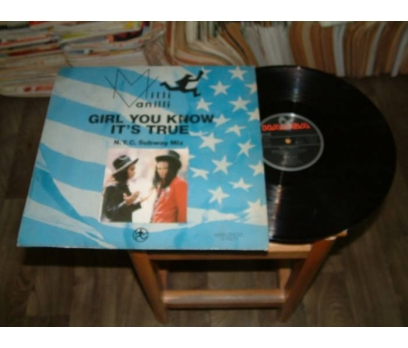 İLKSAHAF&MILLI VANILLI-GİRL YOU KNOW IT'S-LP