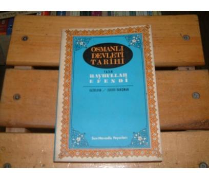 İLKSAHAF&OSMANLI DEVLETİ TARİHİ-HAYRULLAH EFEN