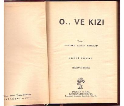 İLKSAHAF&O..VE KIZI-MUAZZEZ TAHSİN BERKAND-1971