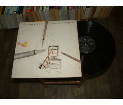 İLKSAHAF&PAUL MCCARTNEY-PIPES OF PEACE-LP PLAK