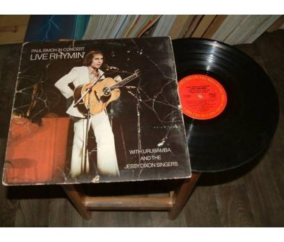İLKSAHAF&PAUL SOMON-LIVE RHYMIN-LP PLAK