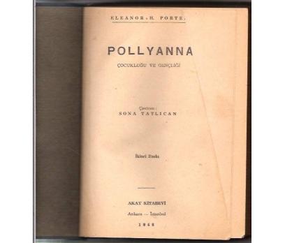 İLKSAHAF&POLLYANNA-E.H.PORTER-SONA TATLICAN-1948