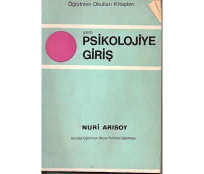 İLKSAHAF&PSİKOLOJİYE GİRİŞ-NURİ ARISOY-1968