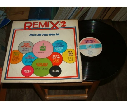 İLKSAHAF&REMIX 2-HITS OF THE WORLD-LP PLAK