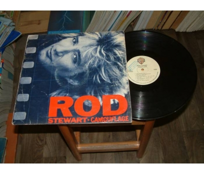 İLKSAHAF&ROD STEWART-CAMOUFLAGE-LP PLAK