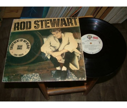 İLKSAHAF&ROD STEWART-EVERY BEAT OF MY HEART-LP