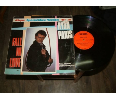 İLKSAHAF&RYAN PARIS-FALL IN LOVE-LP PLAK