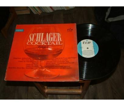 İLKSAHAF&SCLAGER COCKTAIL FOLGE 2-LP PLAK