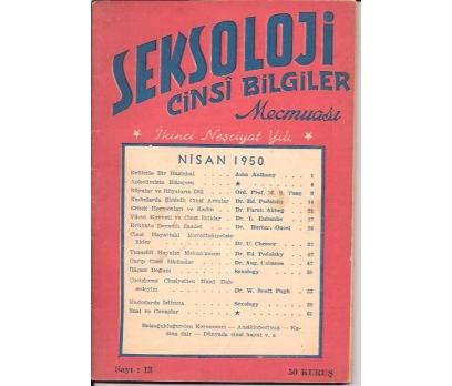 İLKSAHAF&SEKSOLOJİ CİNSİ BİLGİLER MECMUASI-1950