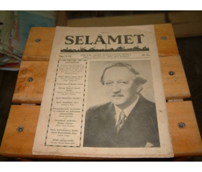 İLKSAHAF&SELAMET DERGİSİ-SAYI 5-73