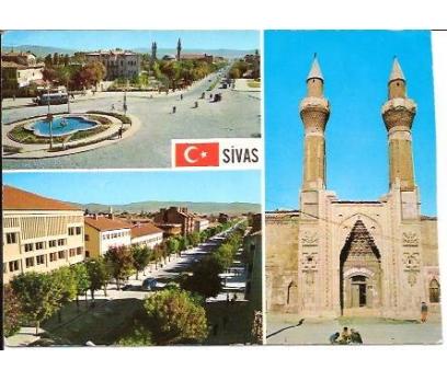 İLKSAHAF&SİVAS-ÇİFTE MİNARE VE 2 ÜMUMİ MANZARA
