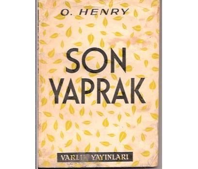 İLKSAHAF&SON YAPRAK-O.HENRY-MEHMET HARMANCI-