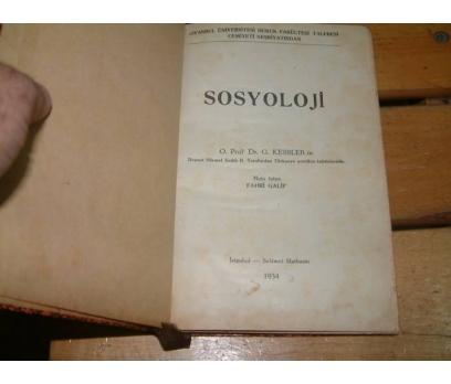 İLKSAHAF&SOSYOLOJİ