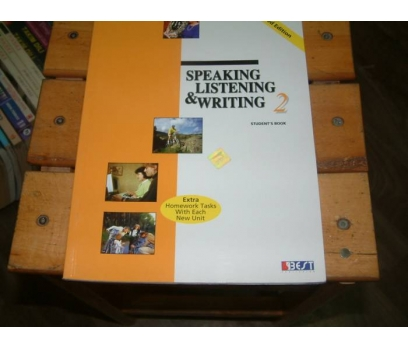 İLKSAHAF&SPEAKING LISTENING&WRITING 2