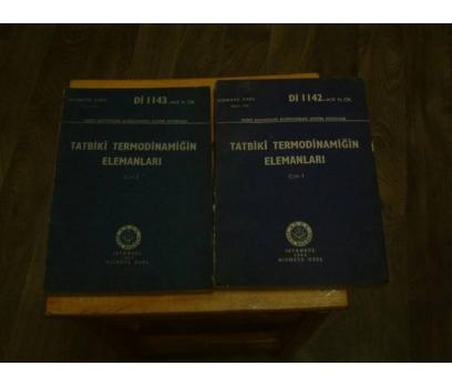 İLKSAHAF&TATBİKİ TERMODİNAMİĞİN-2 CİLT TAKIM