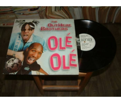 İLKSAHAF&THE OUTHERE BROTHERS-OLE OLE-LP PLAK