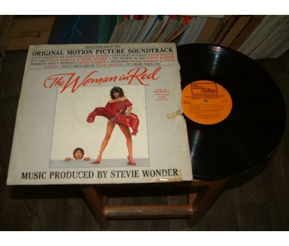 İLKSAHAF&THE WOMAN IN RED-SOUNDTRACK-LP PLAK