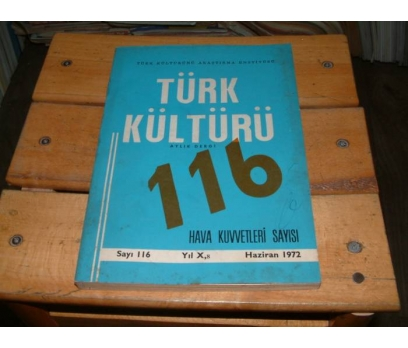 İLKSAHAF&TÜRK KÜLTÜRÜ-SAYI 116-HAZİRAN 1972