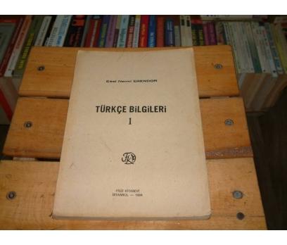 İLKSAHAF&TÜRKÇE BİLGİLERİ 1-ESAT NERMİ ERENDOR
