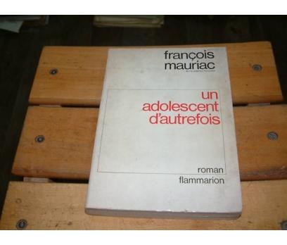 İLKSAHAF&UN ADOLESCENT D'AUTREFOİS-FRANÇOİS M