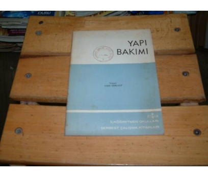 İLKSAHAF&YAPI BAKIMI-LÜTFİ GÖKALP