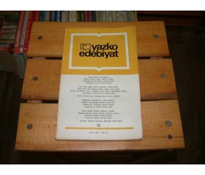 İLKSAHAF&YAZKO EDEBİYAT DERGİSİ - SAYI 12