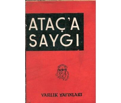 İLKSAHAF@ATAÇ'A SAYGI-VARLIK YAYINLARI 1959