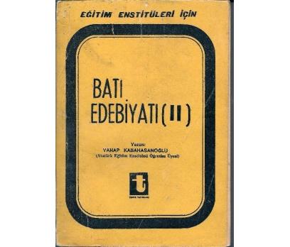 İLKSAHAF@BATI EDEBİYATI(II) VAHAP KABAHASANOĞLU