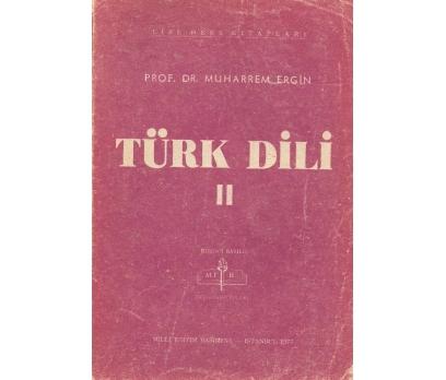 İLKSAHAF@TÜRK DİLİ IIPROF.DR. MUHARREM ERGİN